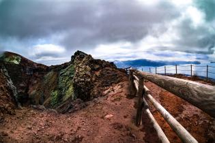 Il Cratere e il Golfo di Napoli
