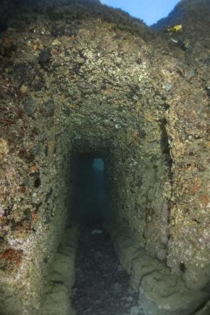 Tunnel delle Peschiere sommerso - Villa Lucullo