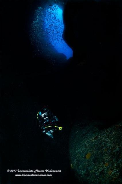 Vittoria Moschitti, Grotta dell'isca