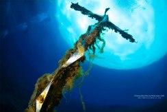 Il crocifisso del subacqueo nel lago di Posta Fibreno