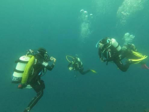 Addestramento subacqueo
